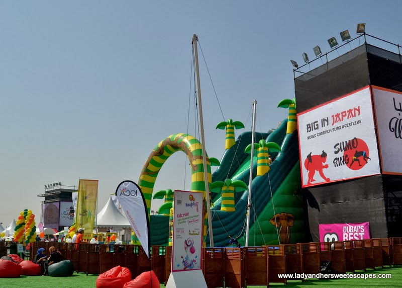 Play Area at the Dubai Food Carnival