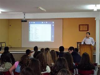ΓΥΜΝΑΣΙΟ ΚΟΡΙΝΟΥ: Παρουσίαση των προγραμμάτων σχολικών δραστηριοτήτων