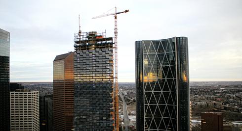 Calgary Tower Observation Deck Alberta
