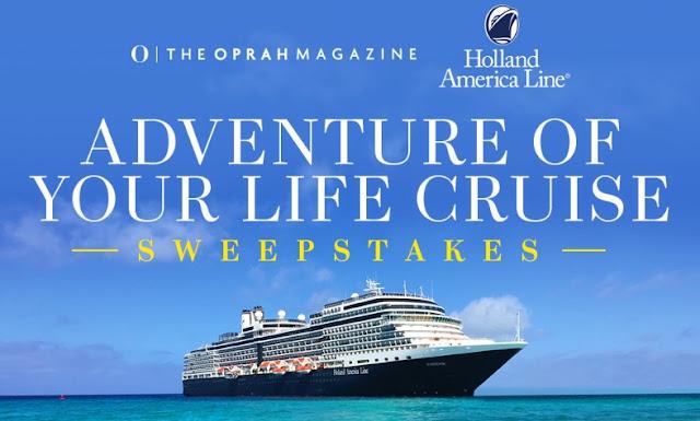 Oprah Paradise Cruise Sweepstakes