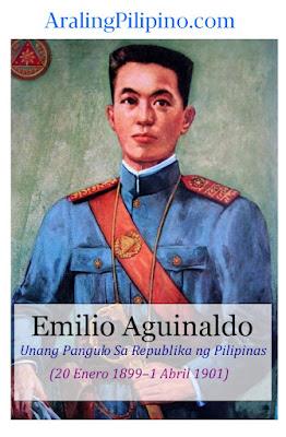 mga pangulo ng Pilipinas emilio aguinaldo