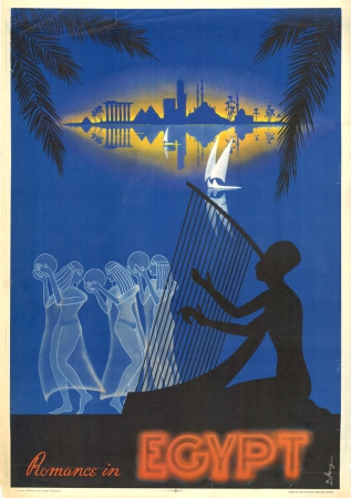 Vintage Travel Posters Egypt