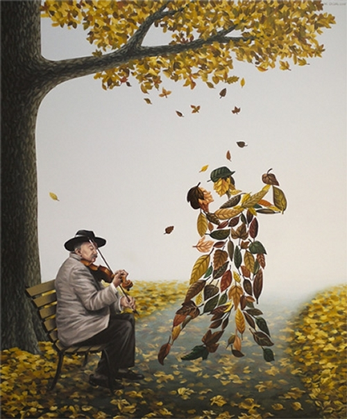 06-Tango-of-Autumn-Mihai-Criste-Symbology-and-Imagination-in-Surreal-Paintings-www-designstack-co