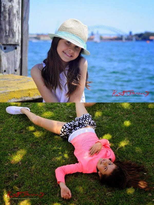 Kids acting, lifestyle, Sydney beach location, kids modelling portfolio by photographer Kent Johnson.