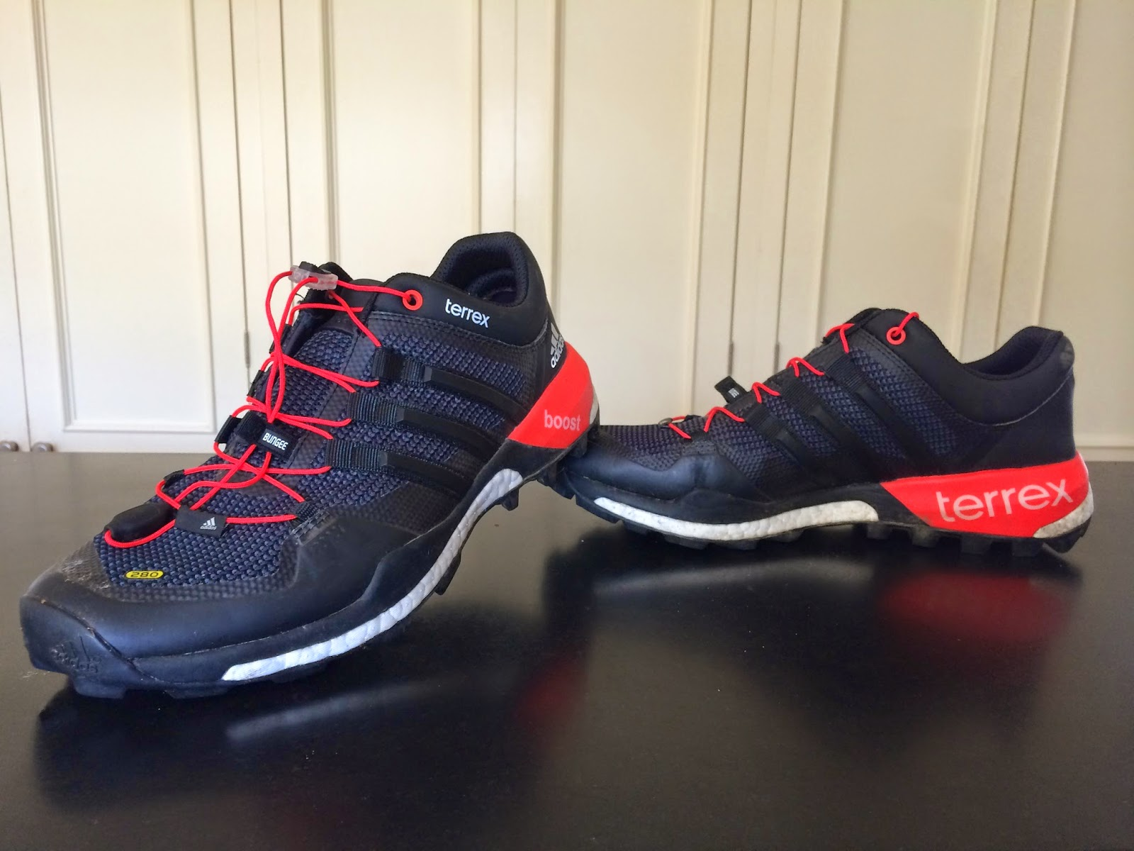 Road Trail Run: Initial Review: adidas Terrex Boost- Trail