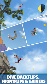 Flip Diving Mod v2.7.0 Apk (Unlimited Money) Full version