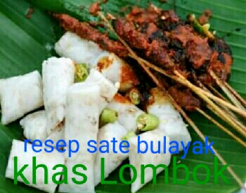 Resep sate bulayak khas Lombok NTB