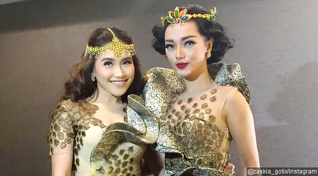 Model Baju Kebaya Zaskia Gotik Modern Terbaru