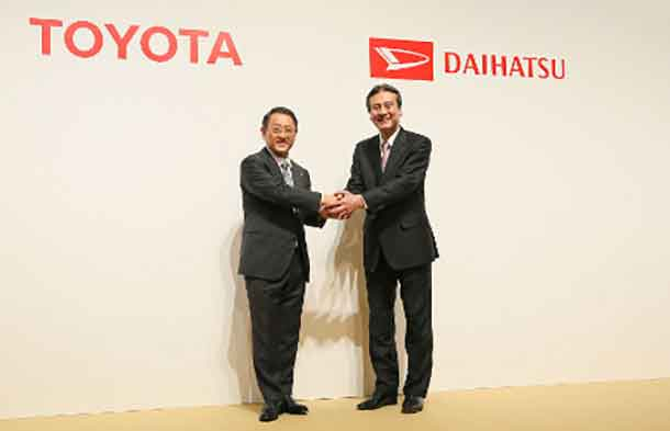 Dibawah Toyota Daihatsu Akan Memasarkan Mobil Kecil dan Murah