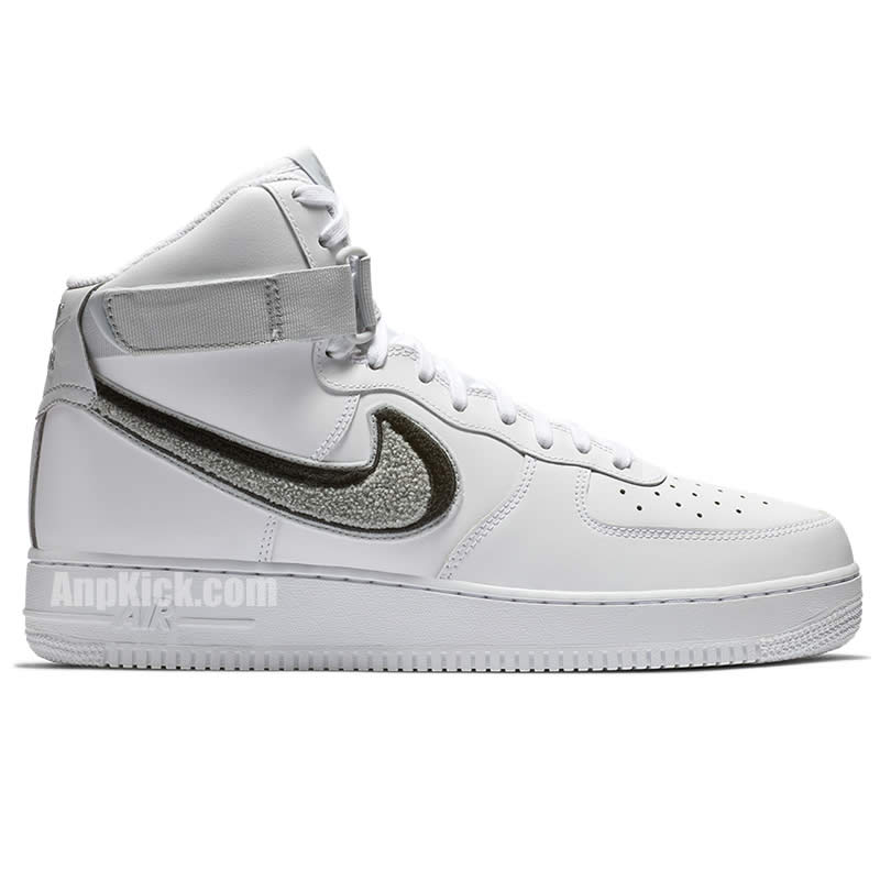 new arrival f5d0b d4dad White Air Forces 1 07 LV8 High Top