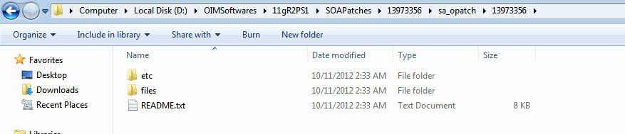 IAM IDM: Steps to Apply Patch and remove patch SOA, OIM, OAM