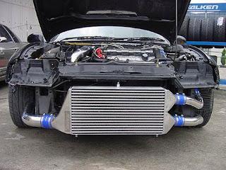 atau yang lebih sering disebut dengan sebutan intercooler saja ialah sebuah komponen atau Fungsi Intercooler Pada Mesin Diesel Turbo