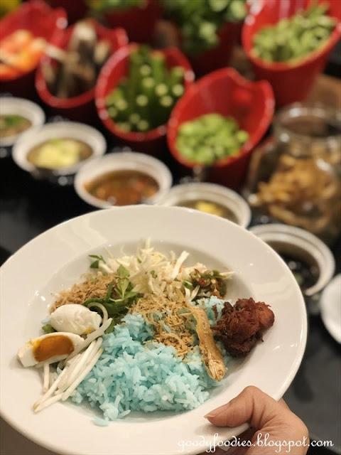 Ramadan Buffet 2019 at Le Meridien Putrajaya - nasi kerabu