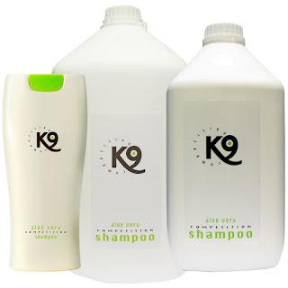 Szampon i odżywka K9 Aloe Vera