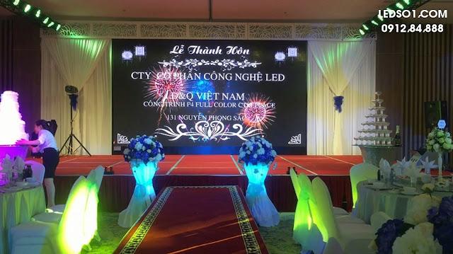 Cho thuê màn hình Led cho tiệc cưới 2