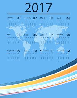 2017カレンダー