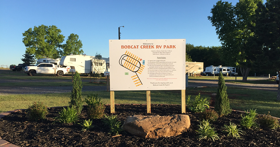 Passport America Site Seers Bobcat Creek Rv Park Sayre
