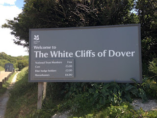 White Cliffs of Dover sign