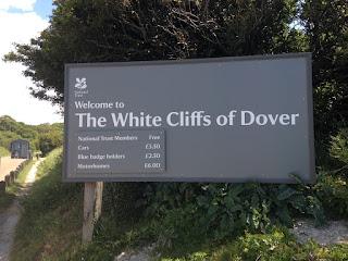 White Cliffs of Dover sign