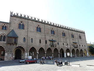 The Palazzo Ducale in Mantua was the seat of the Gonzagas