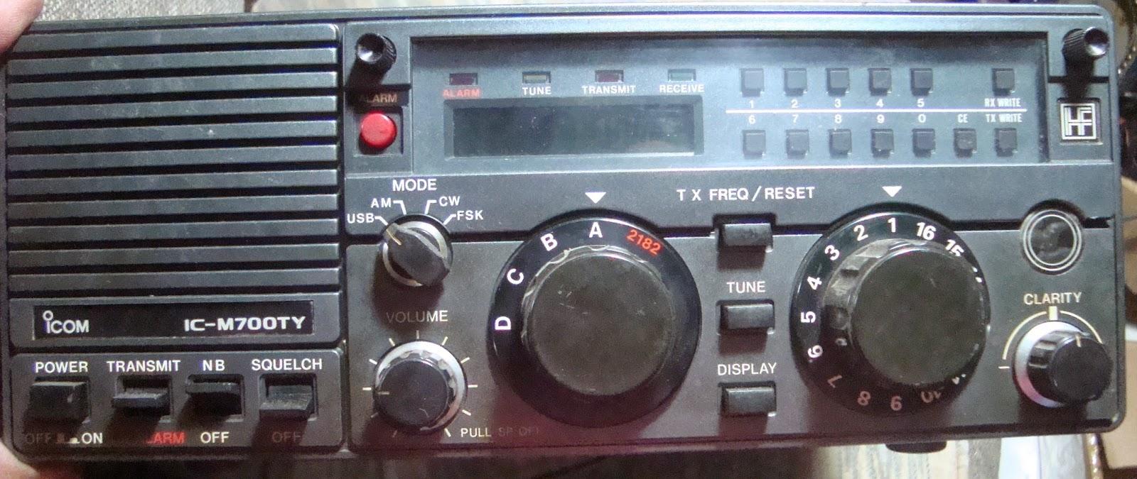 ICOM M 700 TY HF SSB Transceiver ( Sold )