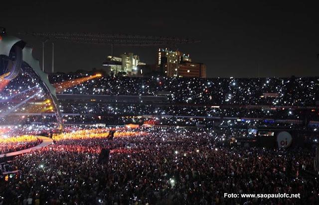Show do U2 em São Paulo, fevereiro de 2006