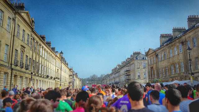Project 366 2016 day 73 - Great Pulteney Street, Bath half marathon // 76sunflowers