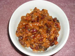 Bowl of Chili with Beans
