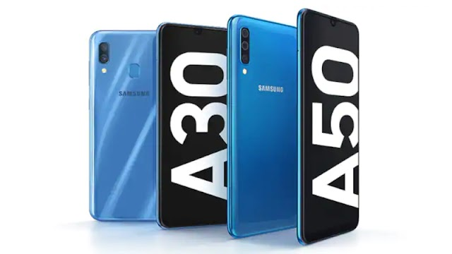 Samsung Galaxy A30 and A50 smartphones launched