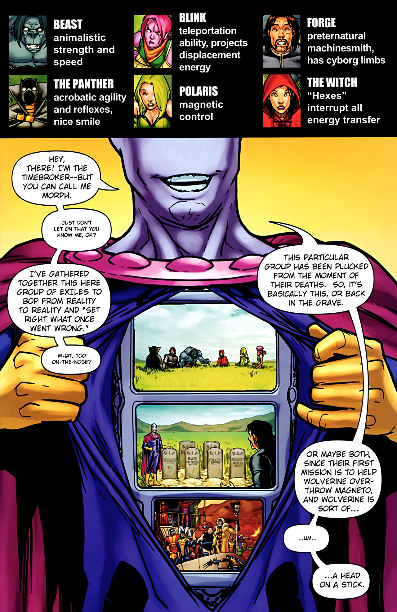 Read online Exiles (2009) comic -  Issue #2 - 2