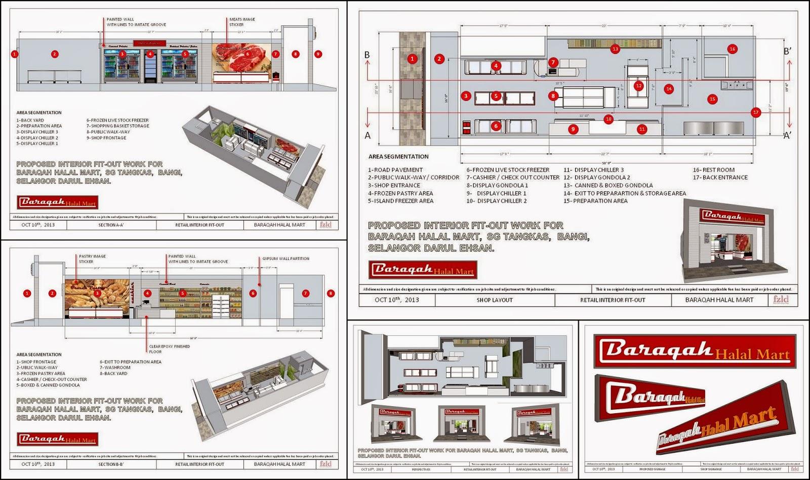 fzld - Faizah Zainal Lifestyle Design: Baraqah Halal Mart