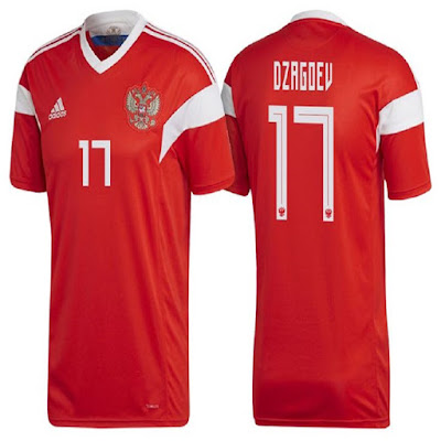 Jersey Rusia New 2018