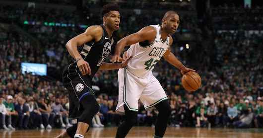 Al Horford delivers a big performance in Game 1 against Giannis Antetokounmpo, Bucks