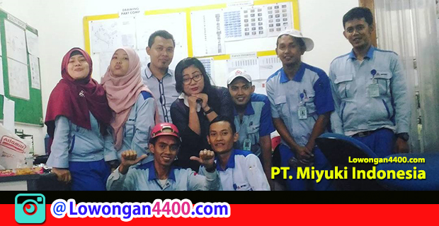 Lowongan Kerja PT. Miyuki Indonesia KIIC Karawang Maret 2018