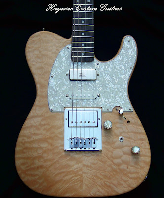 image Haywire Custom Guitars Great Guitar! 3 pickup Shredneck Nashville electric guitar