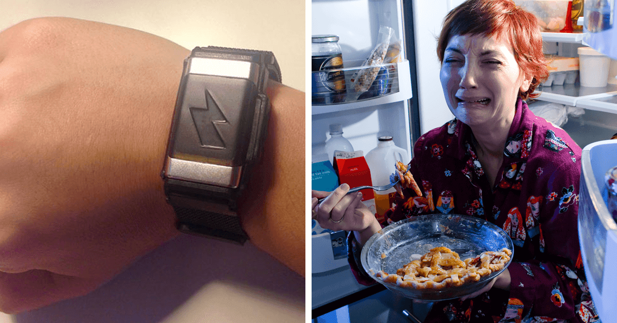 Amazon Bracelet Created To Shock You When You Spend Too Much Money Or Eat Too Much Fast Food