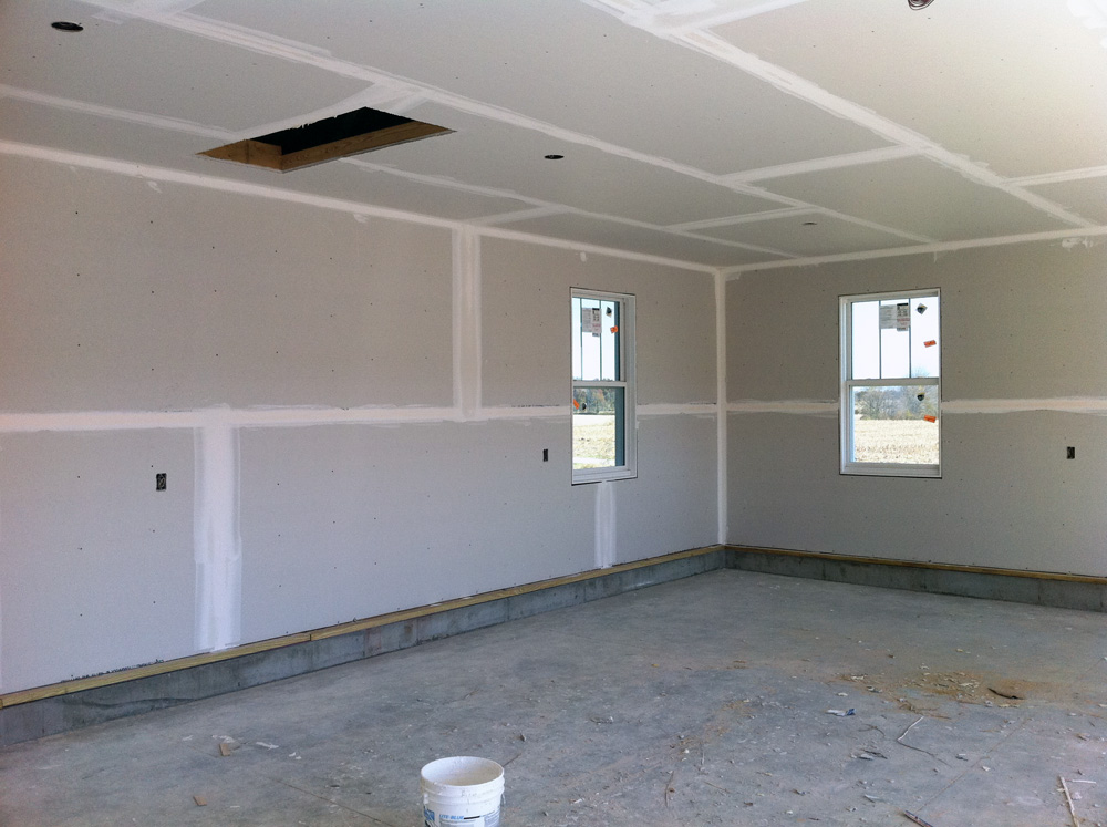 Photos Of How To Drywall Garage