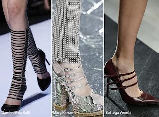 tendencia en zapatos con hebillas