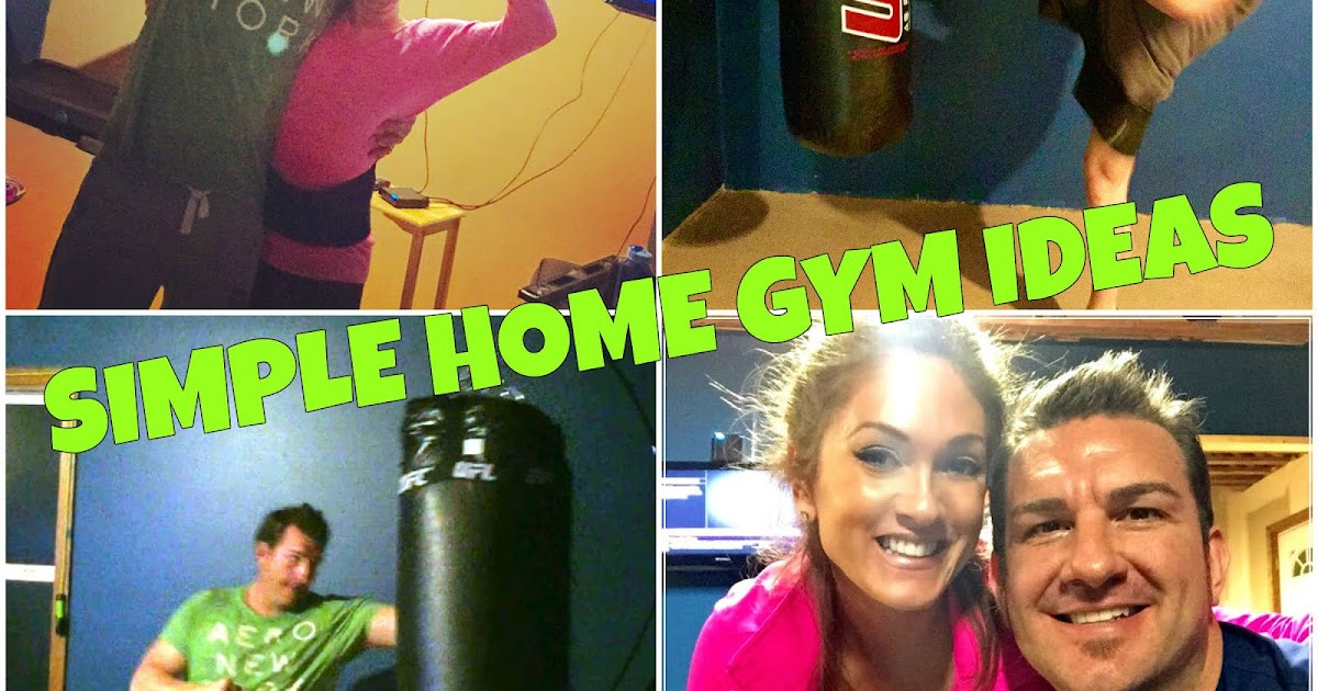 Beauty bylisa simple home gym ideas