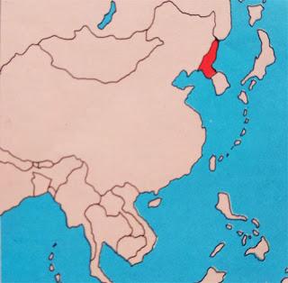 Gambar Peta buta Korea Utara