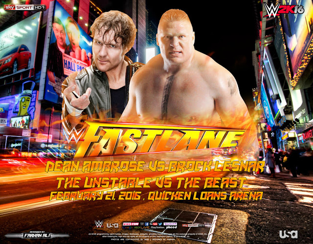 WWE Fastlane 2016 Matches Results and Predictions