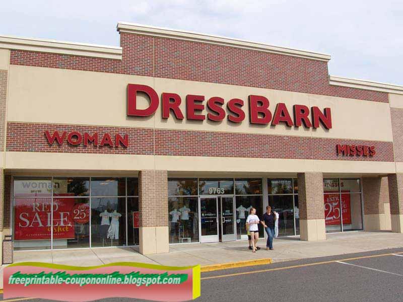 Dress barn woman coupons