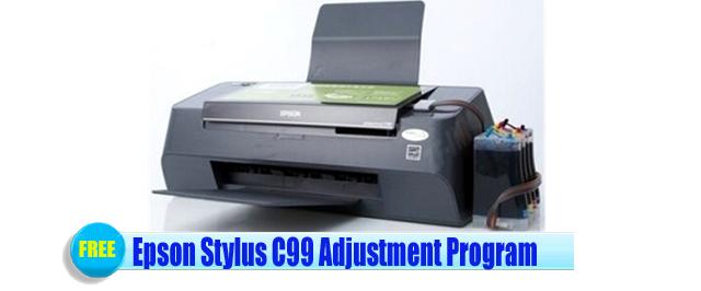 Epson Stylus C99 Adjustment Program