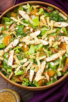 A great collection of different healthy salad recipes is this week's focus for Menu Plan Monday from Walking on Sunshine Recipes.