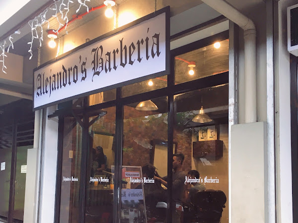 Alejandro's Barberia is now open!