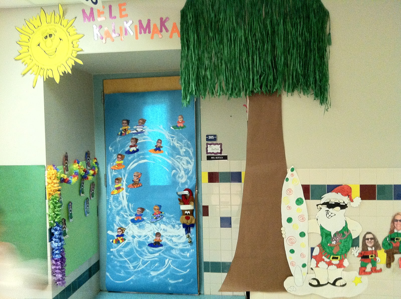Mr. First Grade: Christmas Door Contest