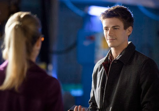 Grant Gustin en Arrow