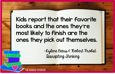 The Best Way to Develop Your Students' Love of Books - The Reading Roundup