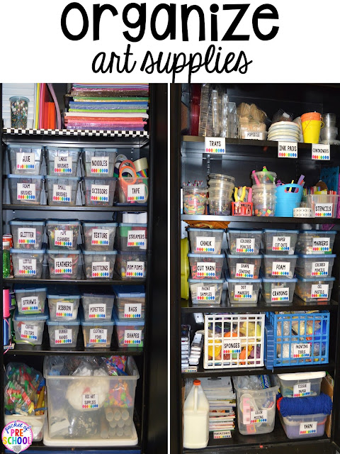 Tons of organizations tips, FREE end of the year lists, & more End of the year teacher and students HACKS to make the end of the year and back to school less easy! Perfect for preschool, pre-k, and kindergarten.
