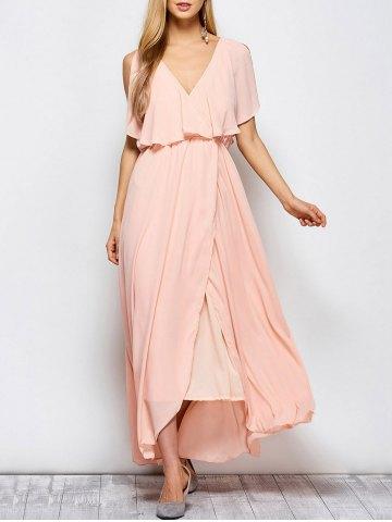 maxi dress rosa